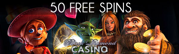 Black Diamond Casino New Player Free Spins