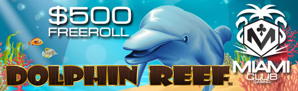 Dolphin Reef Slot Freeroll