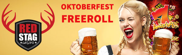 Red Stag Casino Oktoberfest Freeroll Tournament