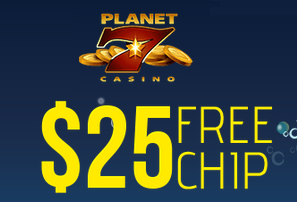 Free Planet 7 Casino Christmas Bonus Coupon
