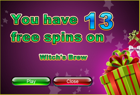 Slotastic Casino Halloween 2016 Free Spins