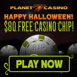 Halloween 2016 No Deposit Casino Bonus