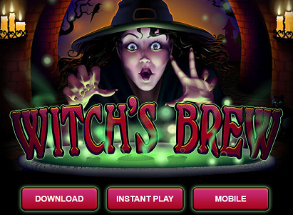 Slotastic Casino Witch's Brew Slot Bonus