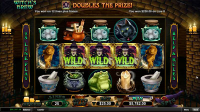 Captain Jack Casino Witchs Brew Slot Free Spins