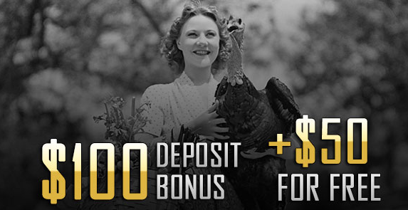 Grande Vegas Casino Thanksgiving 2016 Bonuses