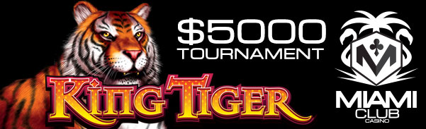Miami Club Casino November Month Long Tournament