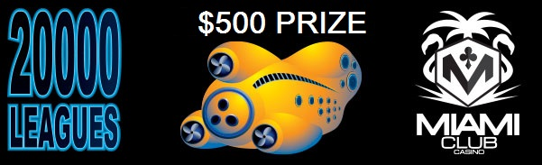 Miami Club Casino 20000 Leagues Slot Freeroll
