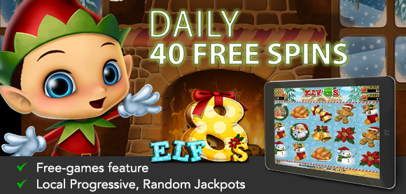 Lucky Club Casino December Daily Free Spins
