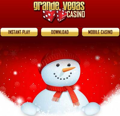 Grande Vegas Casino December 2016 Bonuses