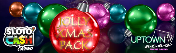 Sloto Cash Casino and Uptown Aces Casino Christmas Bonuses