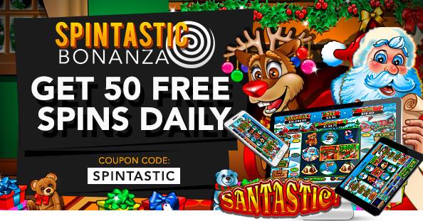 Slotastic Casino December 2016 Bonuses