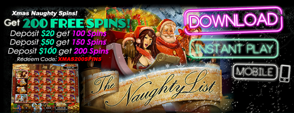 Uptown Aces Casino Christmas 2016 Free Spins