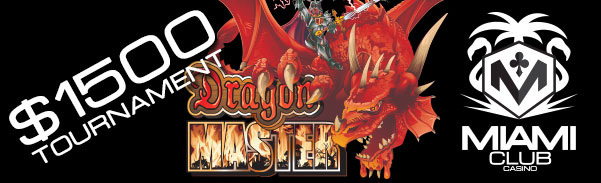 Miami Club Casino Dragon Master Slot Tournament