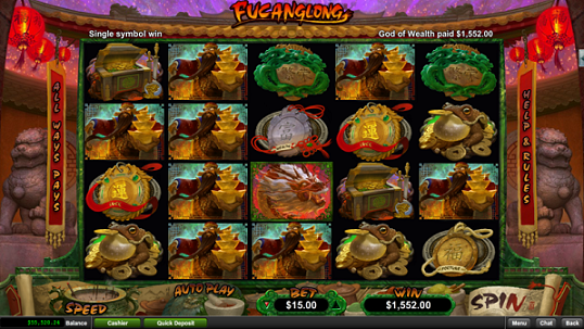 Club World Casino Fucanglong Slot Free Spins