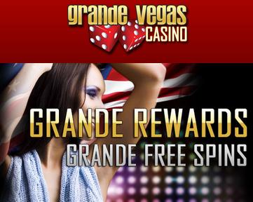 Grande Vegas Casino January 2017 Bonuses