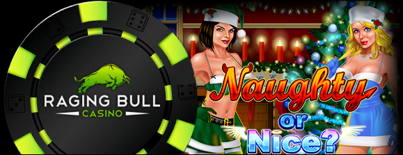 Raging Bull Casino Naughty or Nice Slot Free Spins