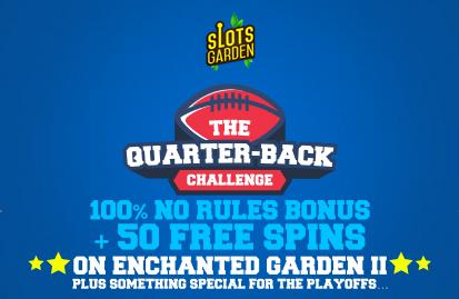 Slots Garden Casino Quarter Back Challenge