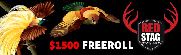 Red Stag Casino Birds of Paradise Slot Freeroll