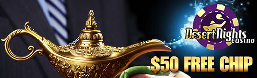 Desert Nights Casino February 2017 Bonus