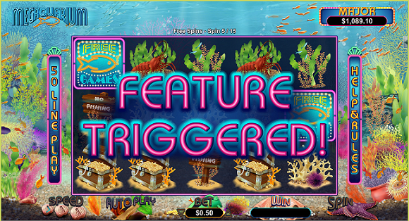 Jackpot Capital Casino Megaquarium Slot Free Spins