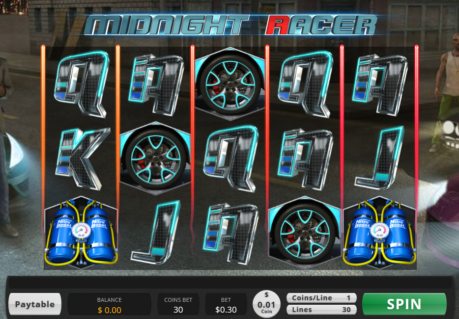 Midnight Racer Slot Free Spins