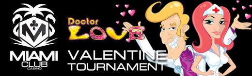 Miami Club Casino Valentines Day Tournament Plus Bonus
