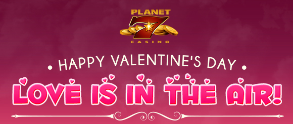 Planet 7 Casino $80 Valentine Bonus