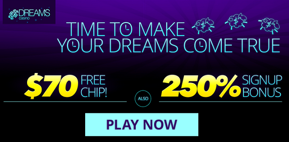dreams casino latest no deposit bonus
