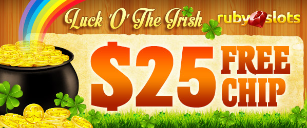 Ruby Slots Casino St Patricks Day No Deposit Bonus Code