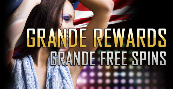 Grande Vegas Casino March Match Bonus Plus Free Spins