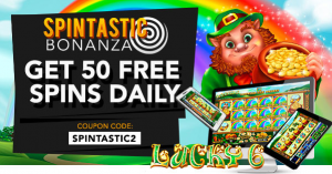 Slotastic Casino St. Patricks Day Free Spins Everyday
