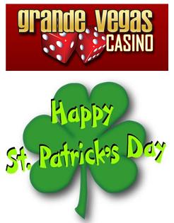 Grande Vegas Casino Free St Patricks Day Bonus