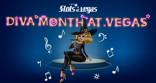 Slots of Vegas Casino Diva Month at Vegas Bonuses