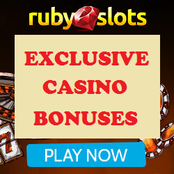 Exclusive Ruby Slots Casino Bonus Coupon Codes