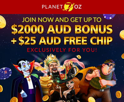 Planet 7 Oz Casino New Player Bonuses
