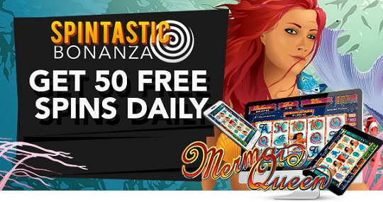 Slotastic Casino May 2017 Daily Free Spins