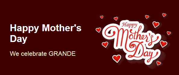 Grande Vegas Casino Mothers Day 2017 Free Spins