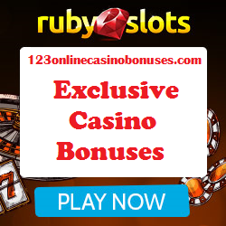 New Exclusive Ruby Slots Casino Bonuses