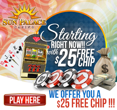 Sun palace casino free chip islabd view casino