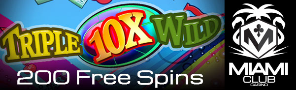 Miami Club Casino June 2017 Free Spins