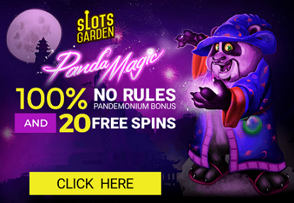Slots Garden Casino Panda Magic Slot Bonuses