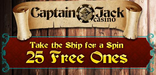 Captain Jack Casino Free Spins Bonus Code