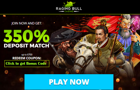 RAGING BULL CASINO - TOP US AND AUSSIE FRIENDLY CASINO
