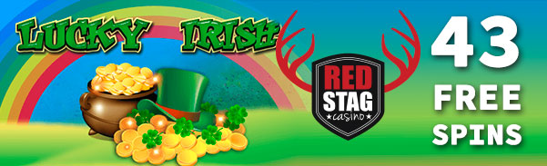 Red Stag Casino Lucky Irish Slot Free Spins