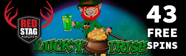 Red Stag Casino Lucky Irish Slot Free Spins Bonus