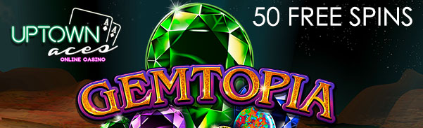 Gemtopia Slot Free Spins Bonus Code