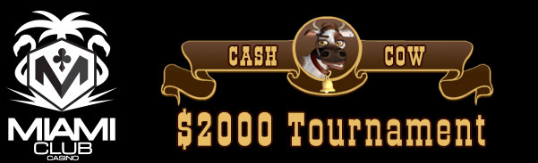 Miami Club Casino More Cowbell Slot Tournament