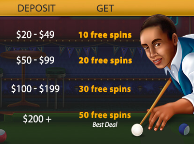Lucky Club Casino September 2017 Daily Free Spins