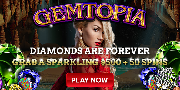 Intertops Casino Gemtopia Slot Weekend Bonus