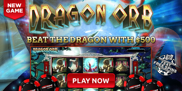Intertops Casino Dragon Orb Slot Bonus